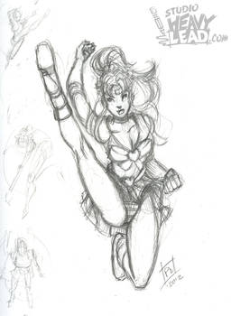 Sailor Jupiter Kicks High!