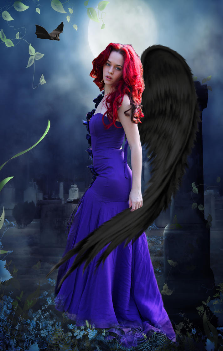 angel of the night by martine8719 on deviantart