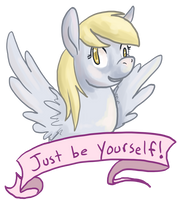 be yourself! by checkers