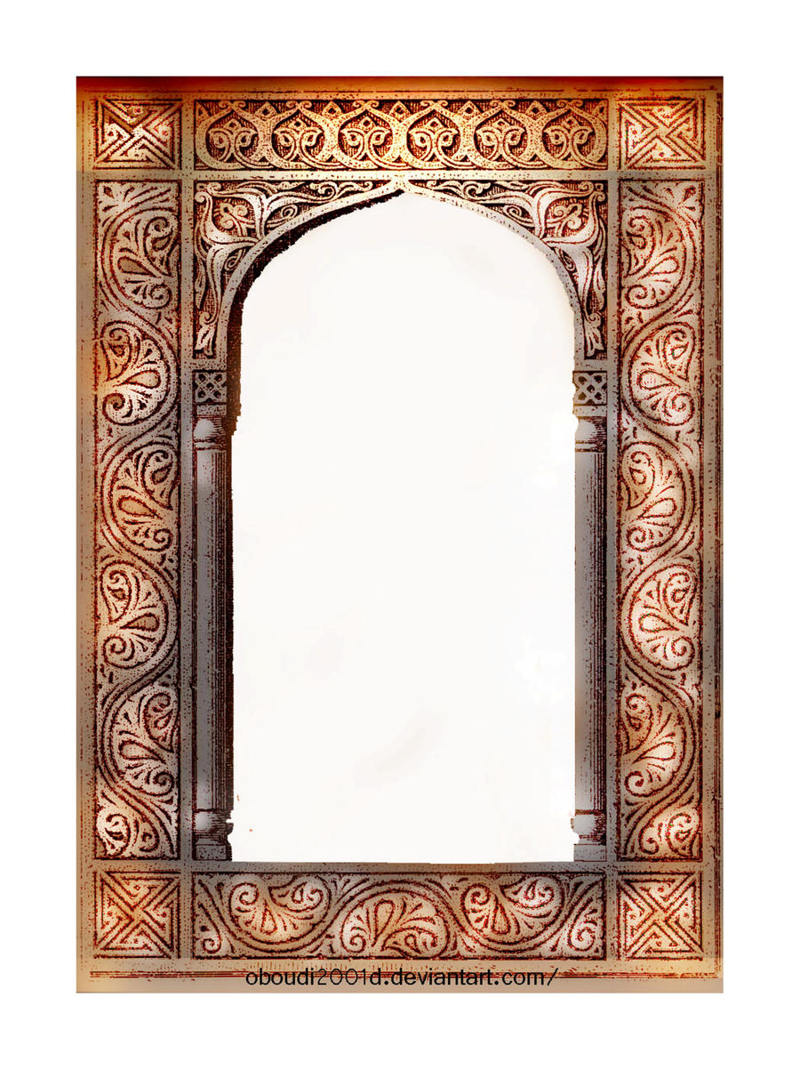 Arabic art frame 367 by oboudiart digital art drawings paintings other