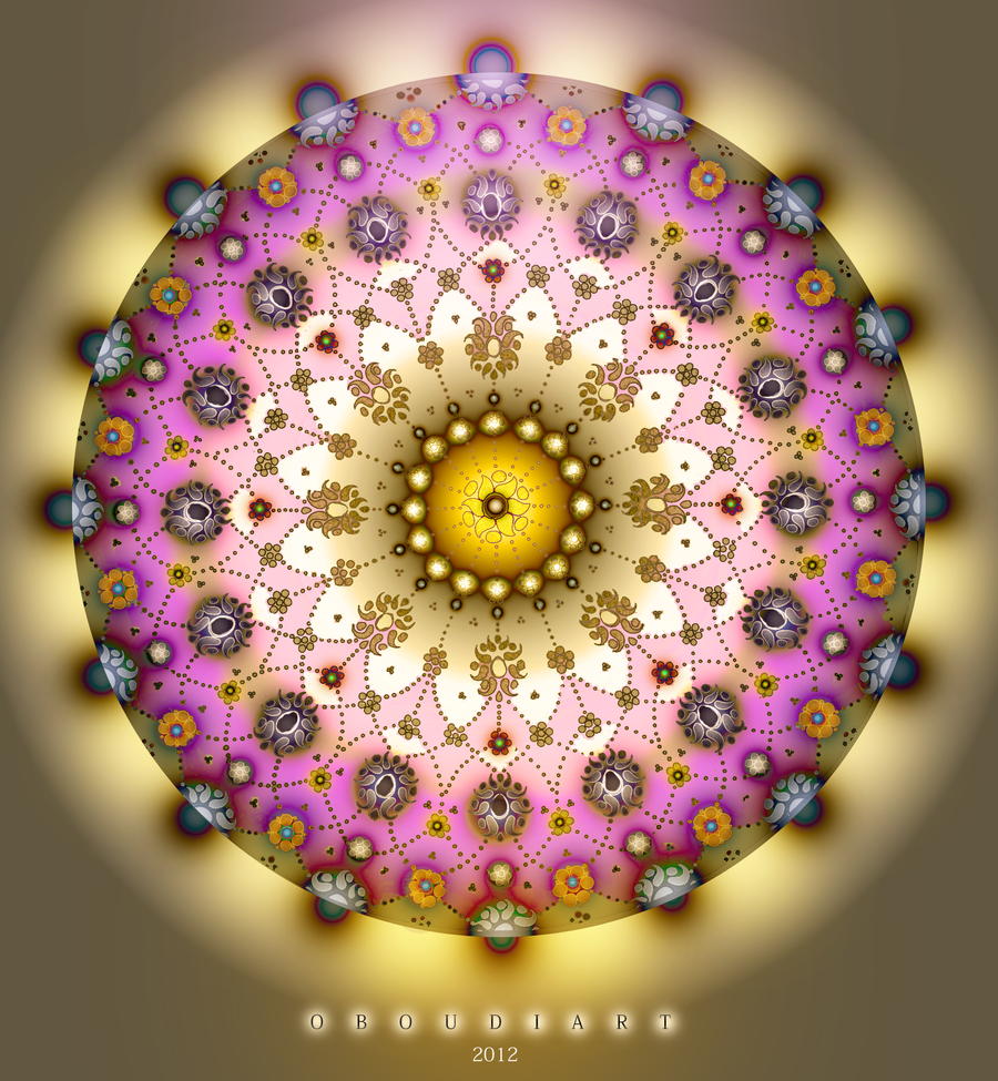 circle art 1682 new life by oboudiart