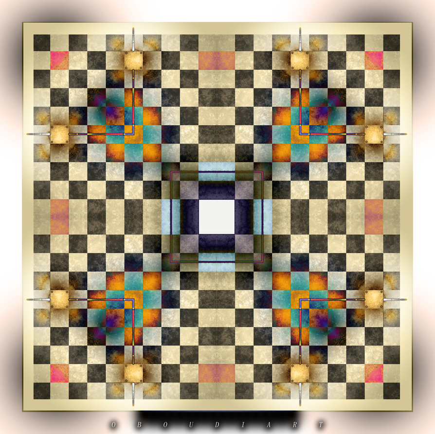 Art  2197 - SQUARE by oboudiart