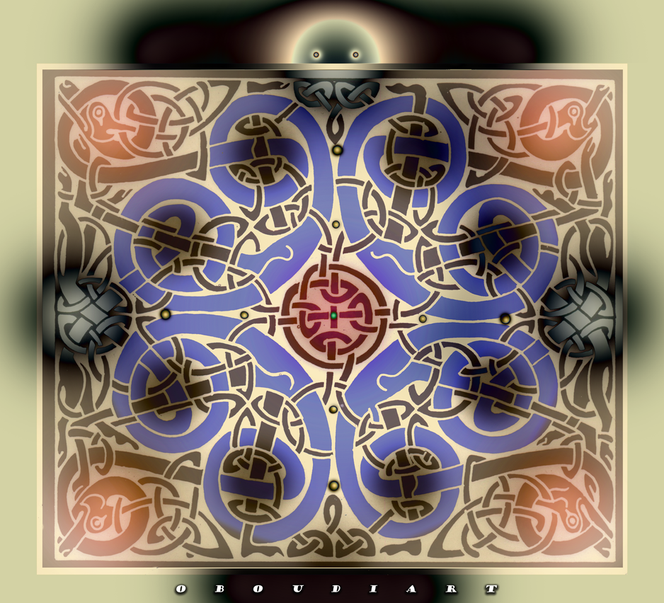 CELTIC art 2225 by oboudiart