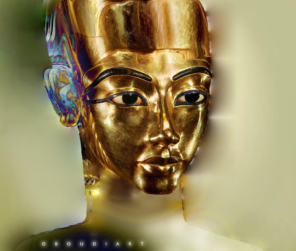 ART 2613 - golden head by oboudiart