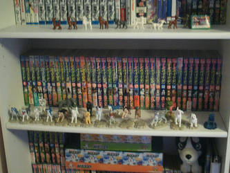 *OUTDATED* Ginga Collection Shelf 2 - 2013 by Demonized-Star