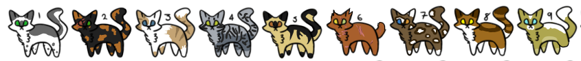 *PRICE REDUCED* Cat Adopts (OPEN)