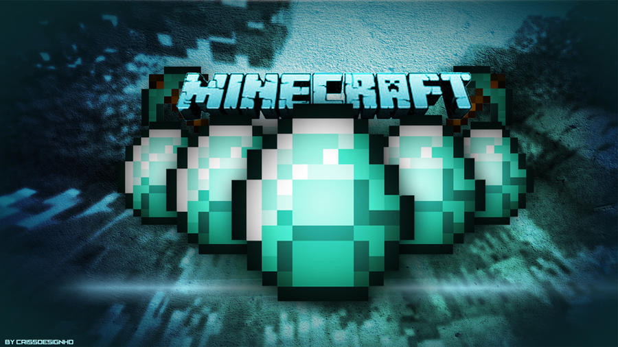 Minecraft Diamond Wallpaper 1920x1080 Minecraft diamonds (blue) by Minecraft Diamond Wallpaper 1920x1080