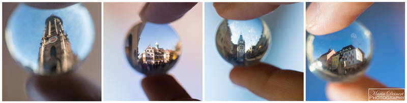 Freiburg in a Sphere