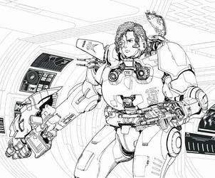 armored suit-2 by taiyosagawa