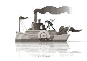 'The Boat' by octavinavarro