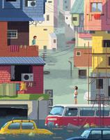 Scene #22: 'The Flood' by octavinavarro