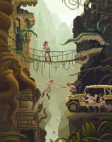 Scene #29: 'The Stolen Idol' by octavinavarro