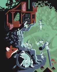 Scene #31: 'The Treehouse' by octavinavarro