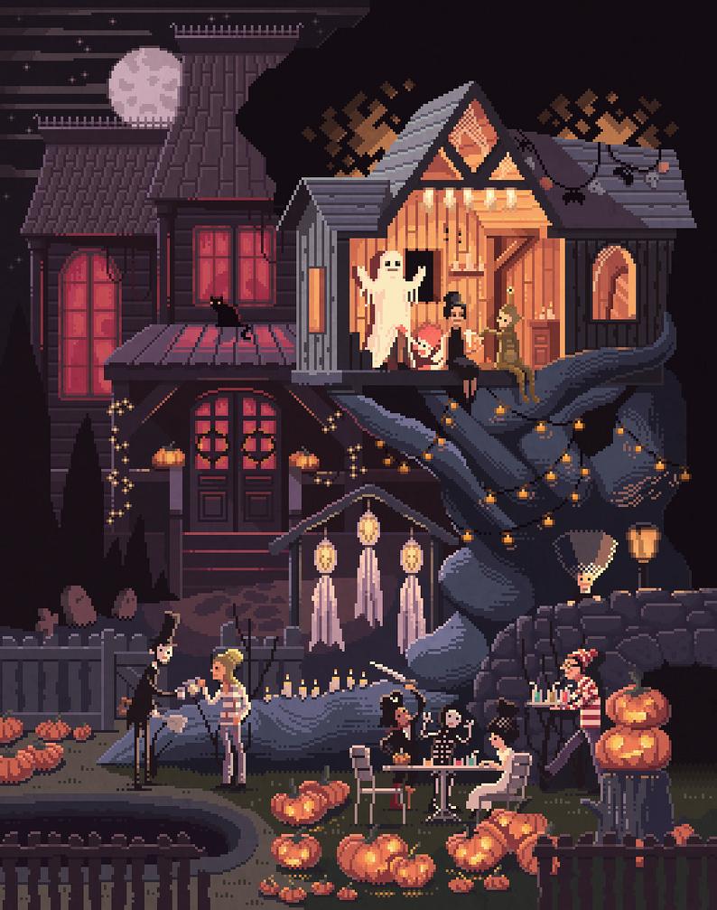Scene #35: 'Pumpkins' by octavinavarro