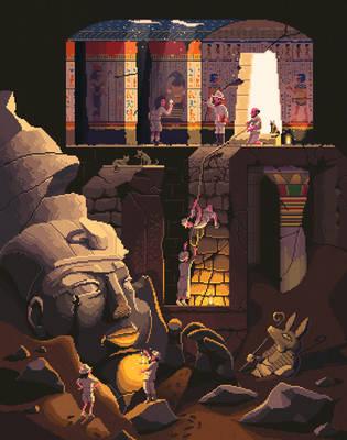 Scene #40: 'The Tomb' by octavinavarro