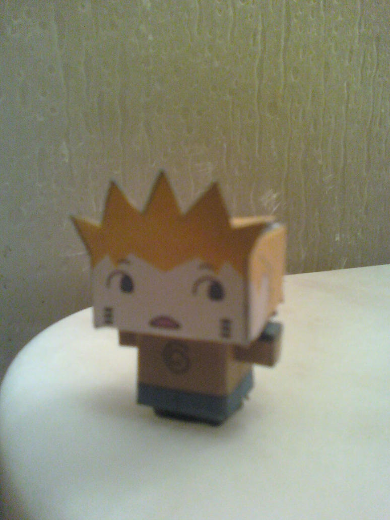 Chibi Naruto Tiny Cubee Finished by rubenimus21