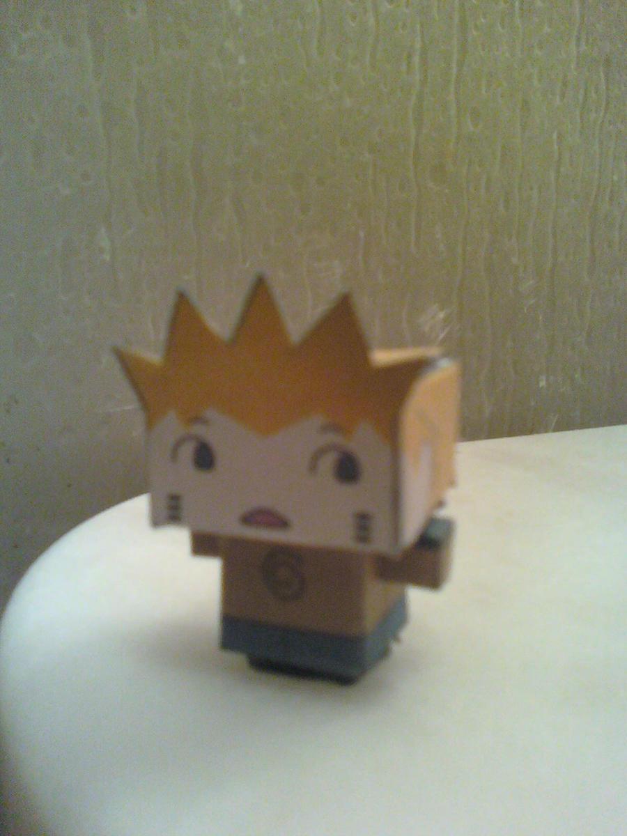 Chibi Naruto Tiny Cubee Finished by rubenimus21