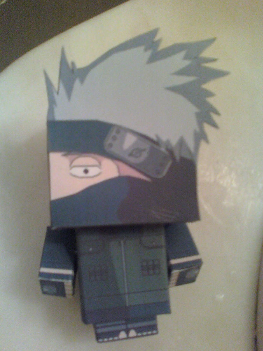 Hatake Kakashi Cubee Finished by rubenimus21