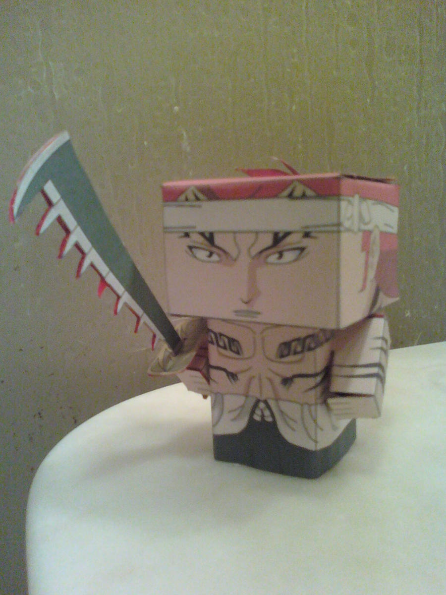 Renji Abarai Cubee Finished by rubenimus21