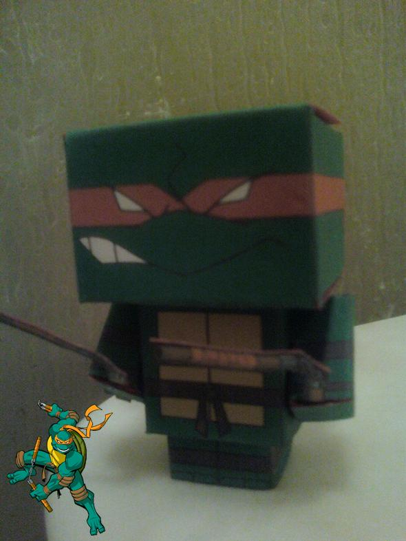 Michelangelo Cubee Finished by rubenimus21