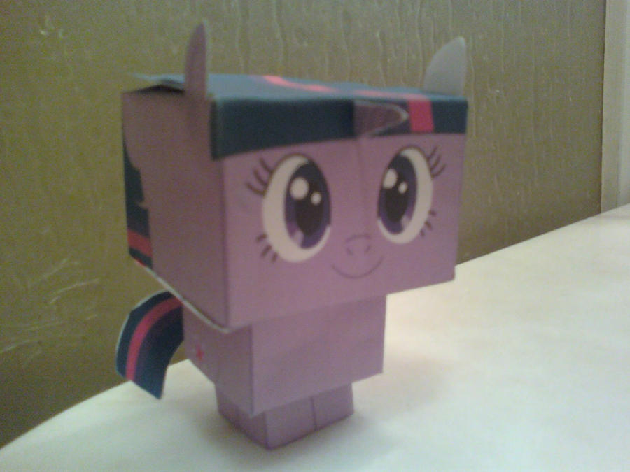 Twilight Sparkle Cubee Finished by rubenimus21