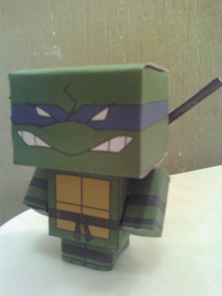 Donatello Cubee Finished by rubenimus21