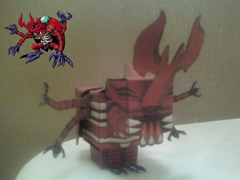 MegaKabuterimon Cubee Finished by rubenimus21