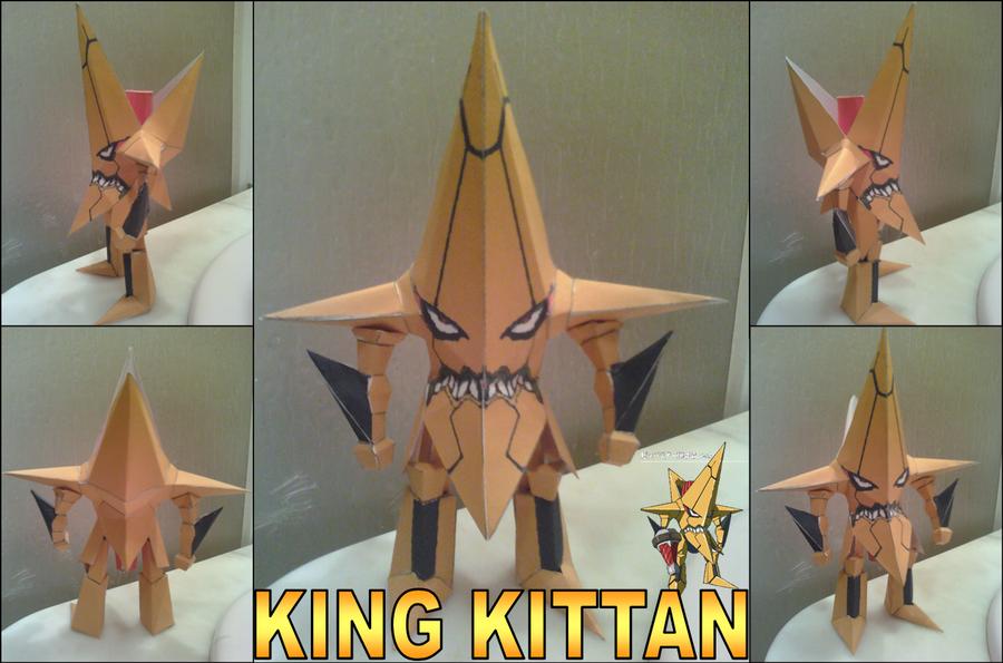 King Kittan Papercraft Finished by rubenimus21