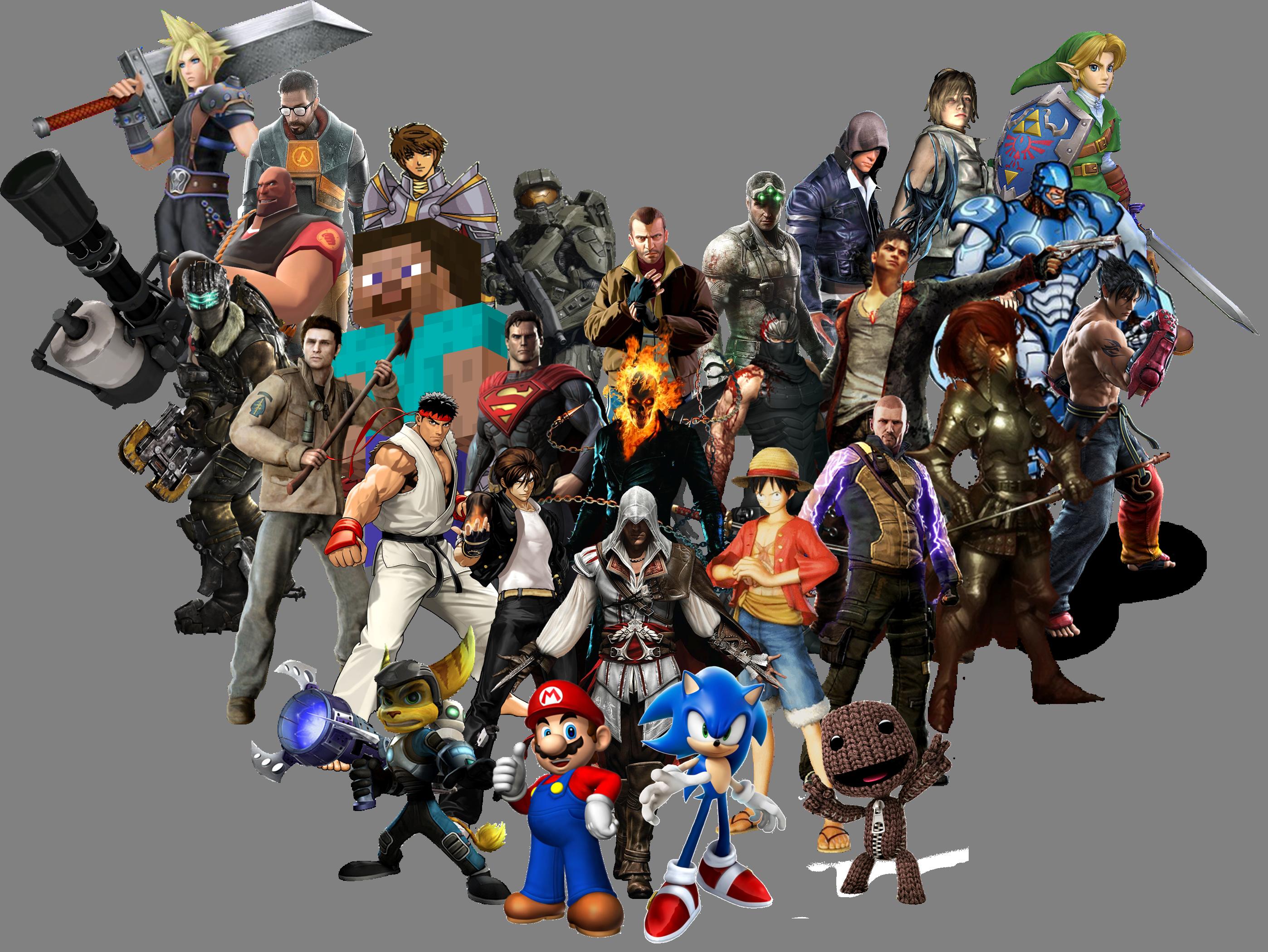 Gaming characters png