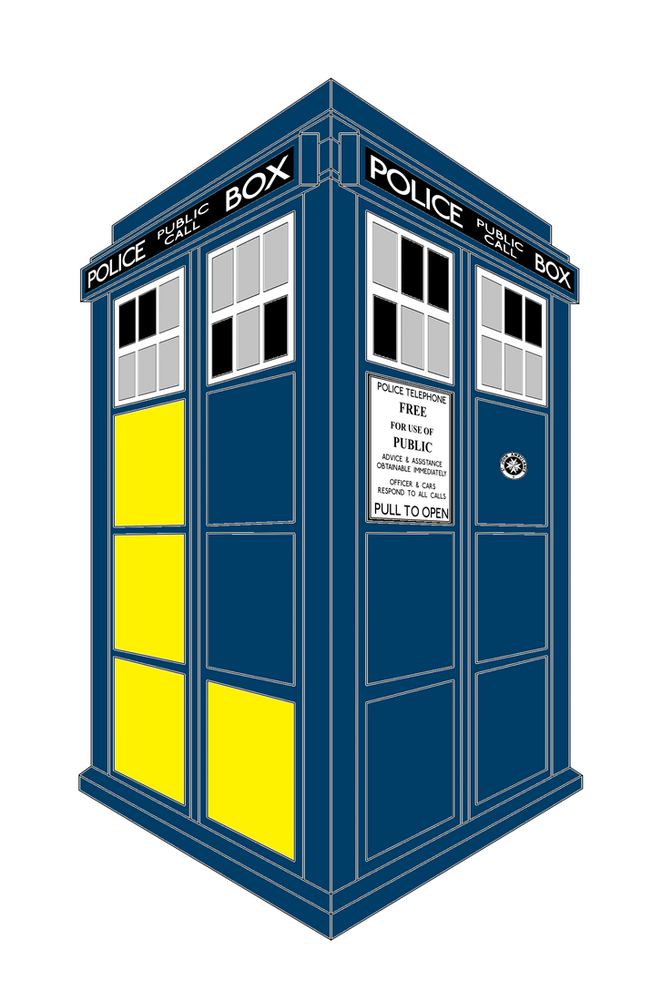 50th Anniversary TARDIS by Madskillz-001