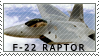 F-22 stamp by 00X181-033-4-9953XX3