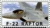 F-22 stamp by 00X181-033-4-9953XX3