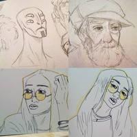 Sketchbook doodles 1
