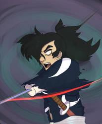 [Screenshot redraw] Hyakkimaru
