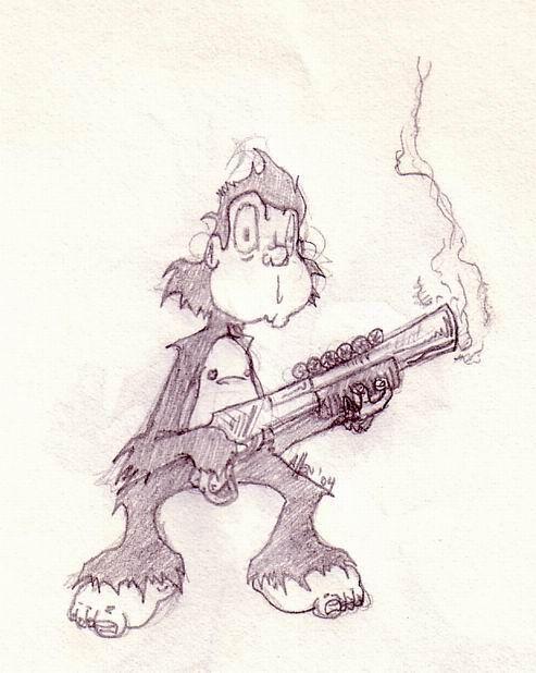 Monkey by Mutthead