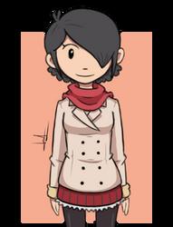 Sketch #2: Cute Lady by CaptainLardNar