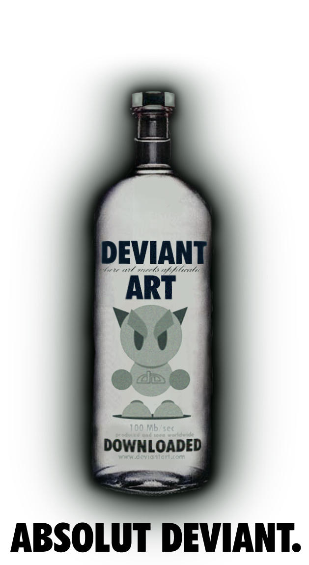 absolut deviant on white by guesshimself