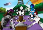 Cena a casa Chief Colored