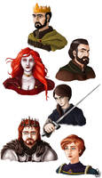 A Song of Ice and Fire characters