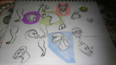 Sketchdump #2 by RNK50