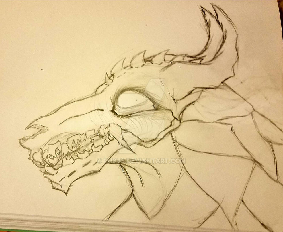 Skull creature wip by RNK50