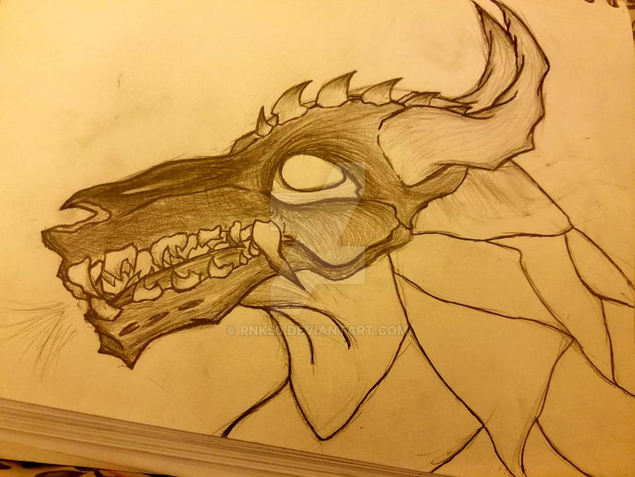 Skull Creature wip p2 by RNK50