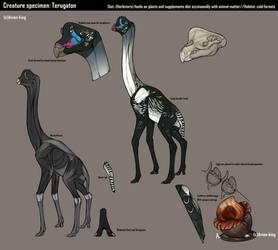 Creature specimen: Terugaton by Avian-king