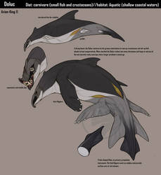 Creature Specimen: Doluc by Avian-king