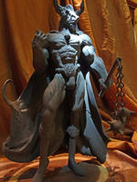 Minotaur Lord III by BronzeRealm