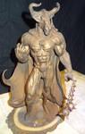 Minotaur Lord by BronzeRealm