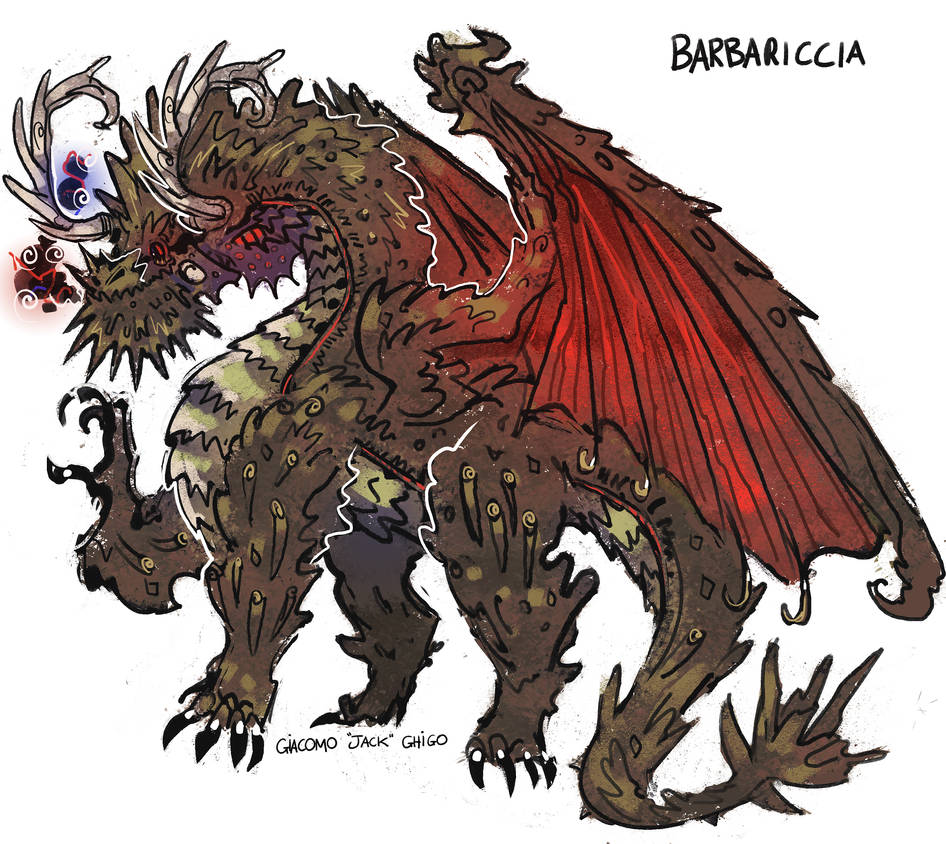 Fiend of the Wind Barbariccia by NarratorClaire on DeviantArt