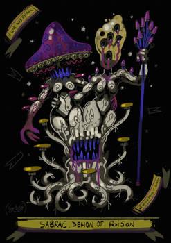INFERNO: Sabrac, Demon of Poison