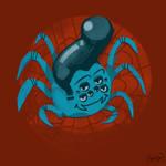 Spider Elvis by MisterFeelgood