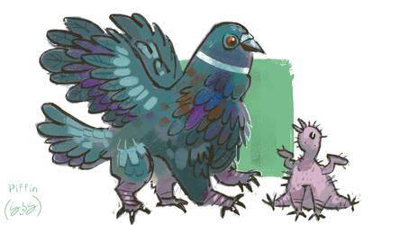 Arcadia's Creatures: Piffin
